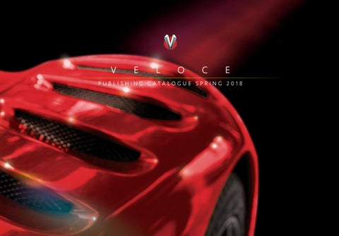 Veloce publishing 20145 catalogue by veloce publishing issuu veloce publishing catalogue spring 2018 fandeluxe Choice Image