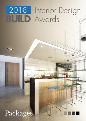 Interior Design BUILD Awards 2018