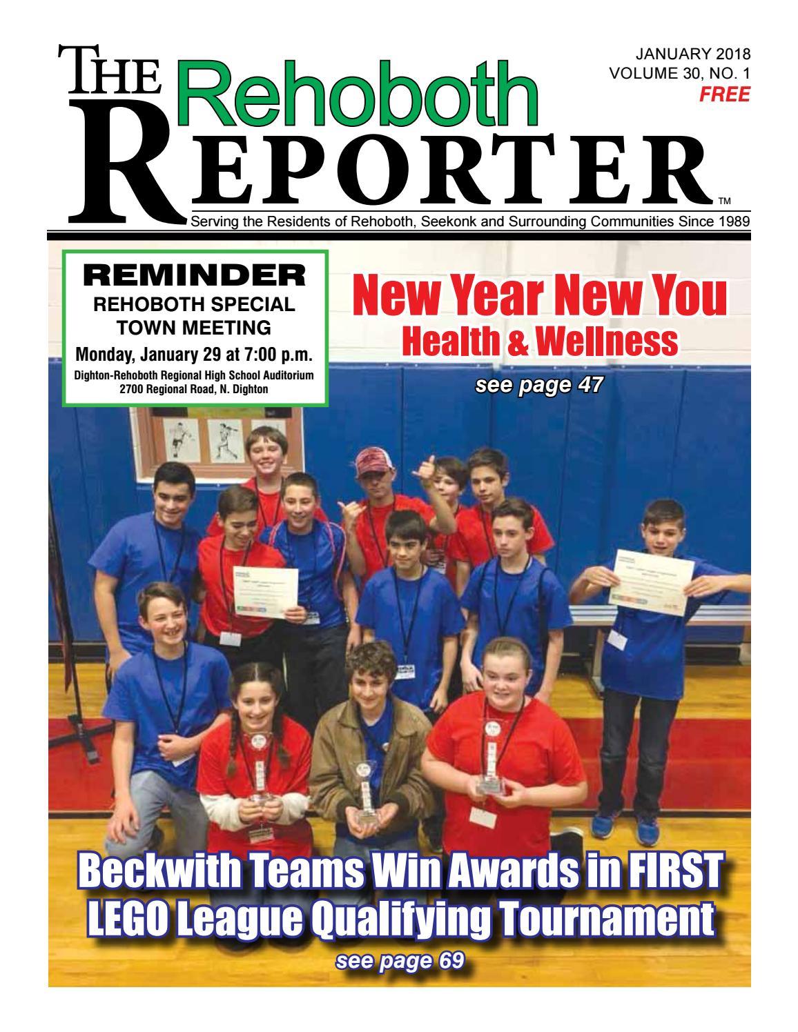 January 2018 Rehobth Reporter