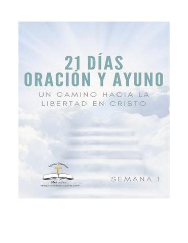 21 Dias En Oracion Y Ayuno Semana 1 By Esdras Uliel