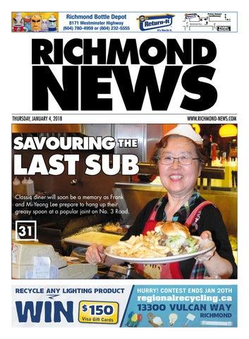 Richmond News January 4 2018 by Richmond News - issuu