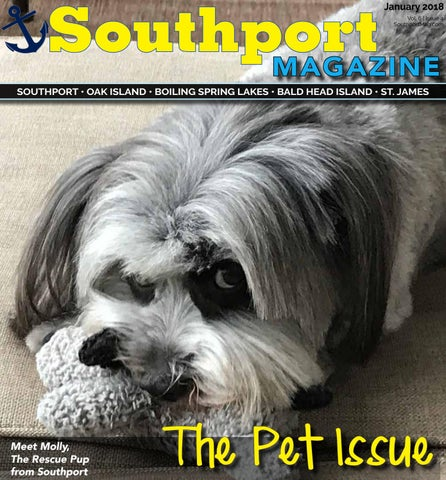 Night In Charleston I Met Katrina Dog >> Southport Magazine January 2018 The Pet Issue By Southport