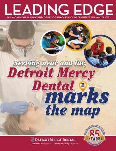 Udm Campus Map.Fall Winter 2017 Leading Edge By University Of Detroit Mercy School