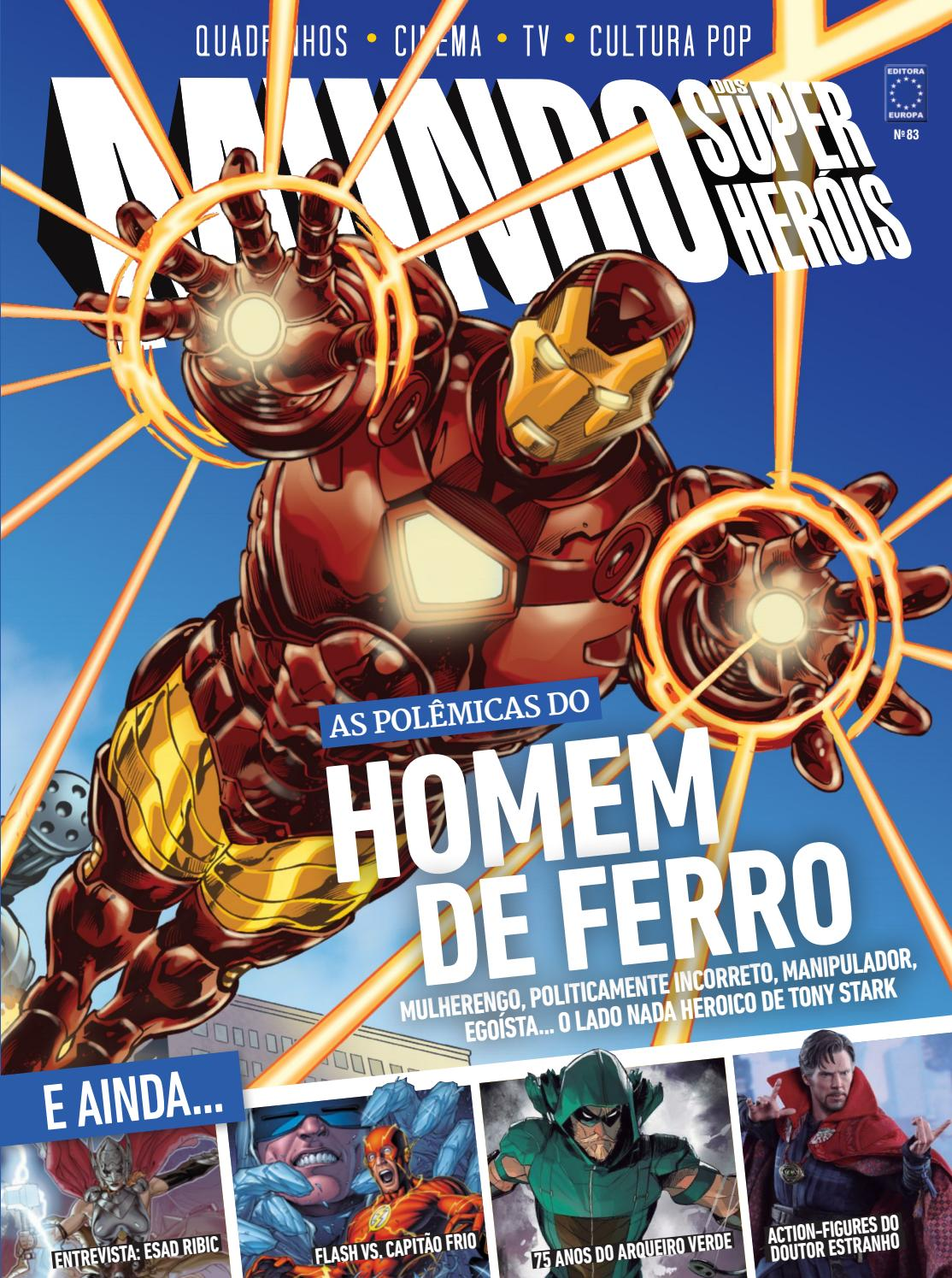 87766edf113 Mundo dos super heróis vol 83 by Carlos Silva - issuu