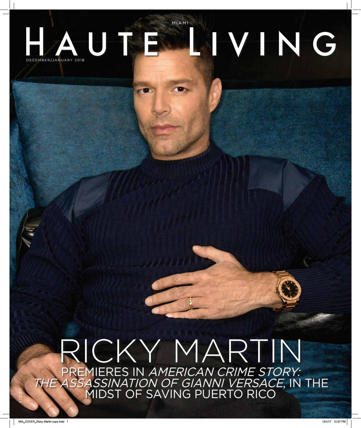 46064bee448 Haute Living Ricky Dec Jan 2018 by Haute Living - issuu