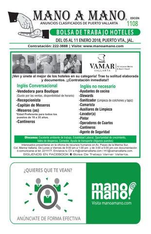 Bolsa trabajo hoteles 1108 by MANO A MANO - issuu