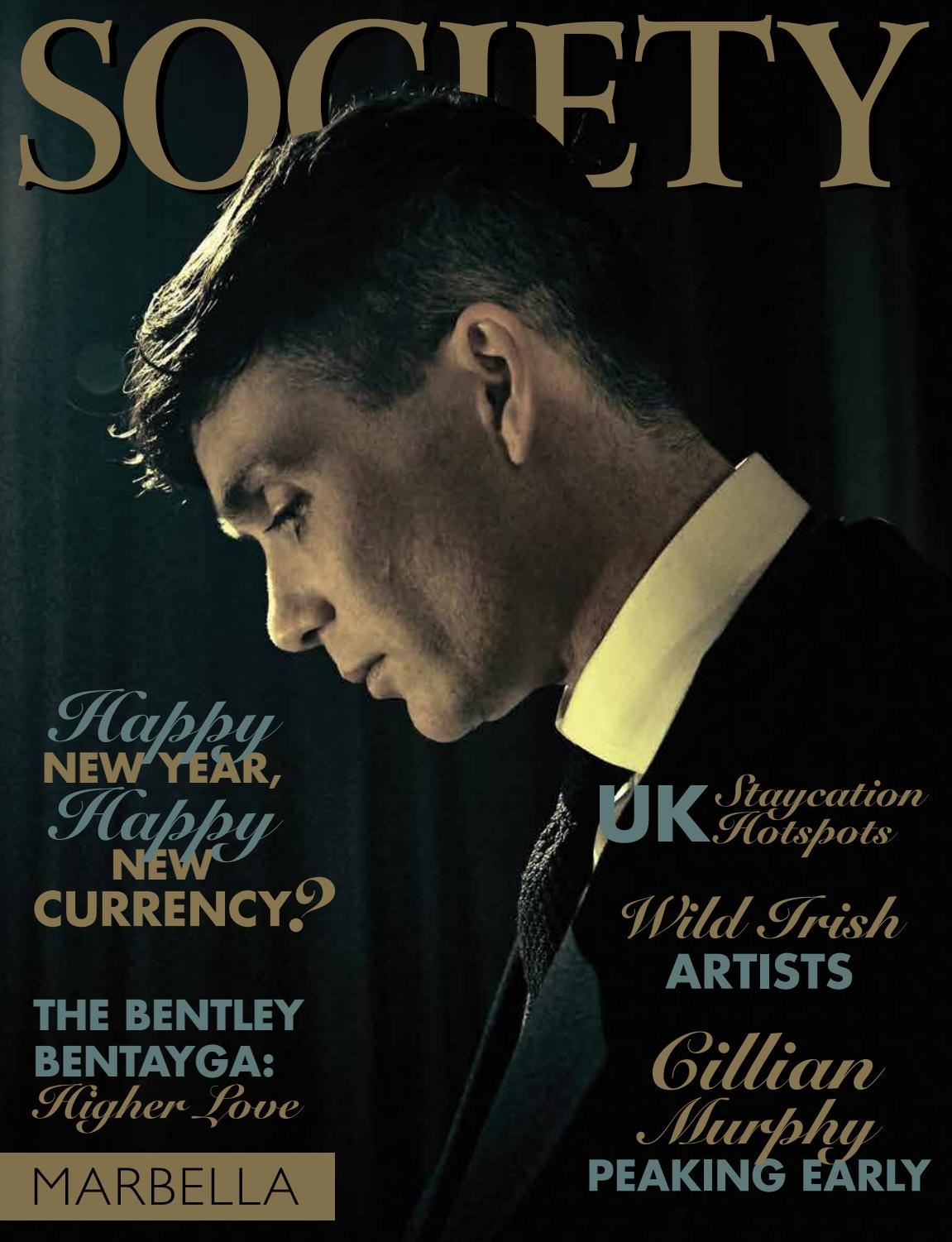 Society Marbella January 2018 Cillian Murphy Happy New Year  # Barre Duque Muebles