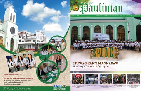 452054a0fc49 The paulinian christmas issue by Ronel - issuu