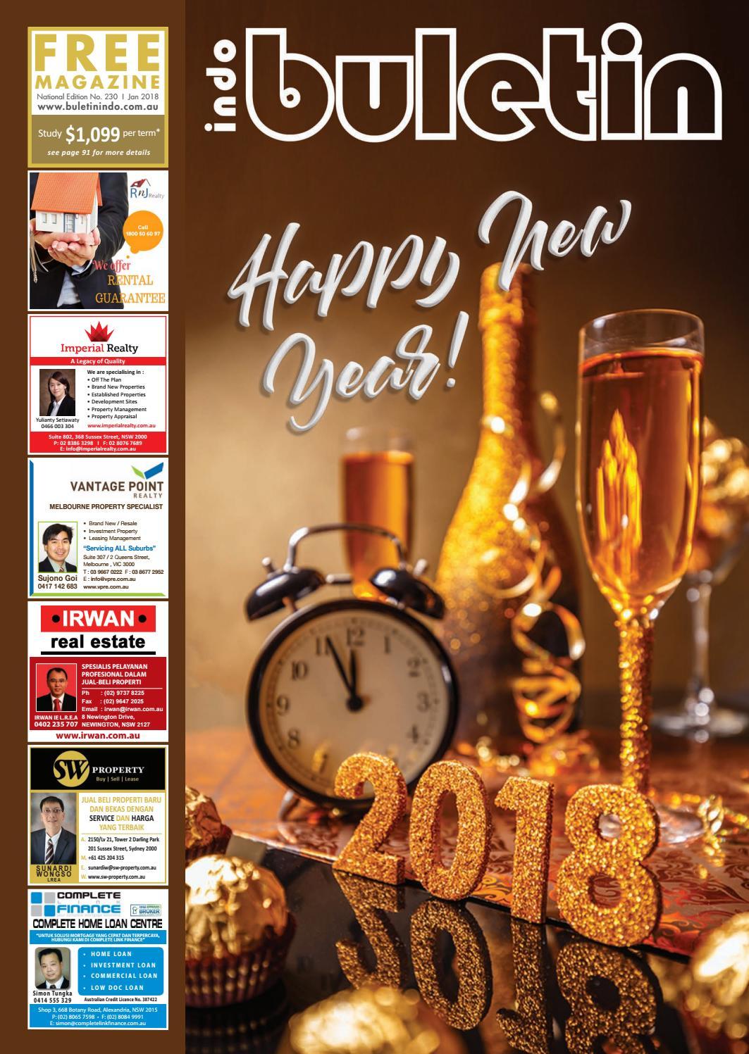 Buletin Indo January 2018 By Issuu Sambal Bawang Aisha Store Sby
