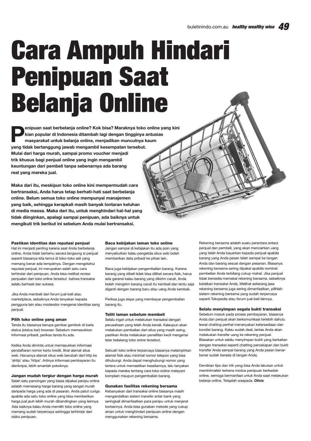 Buletin Indo January 2018 By Buletin Indo Issuu