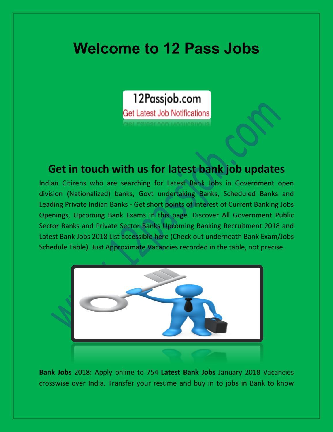 10th pass job, latest bank jobs by 12passjob - issuu