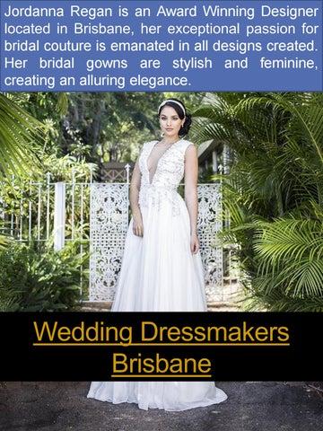 Wedding Dress Designer Brisbane By Wedding Dresses Issuu