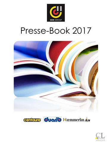 Presse Book Cdh Group 2017 Par Marques By Fdubas At Cdhgroup