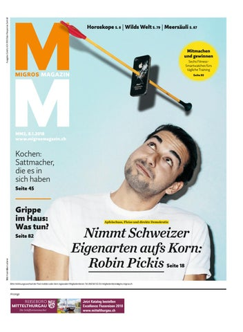 Migros Magazin 02 2018 D Zh By Migros Genossenschafts Bund Issuu