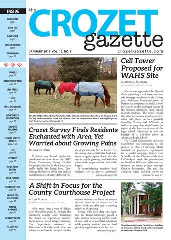 Crozet Gazette January 2018