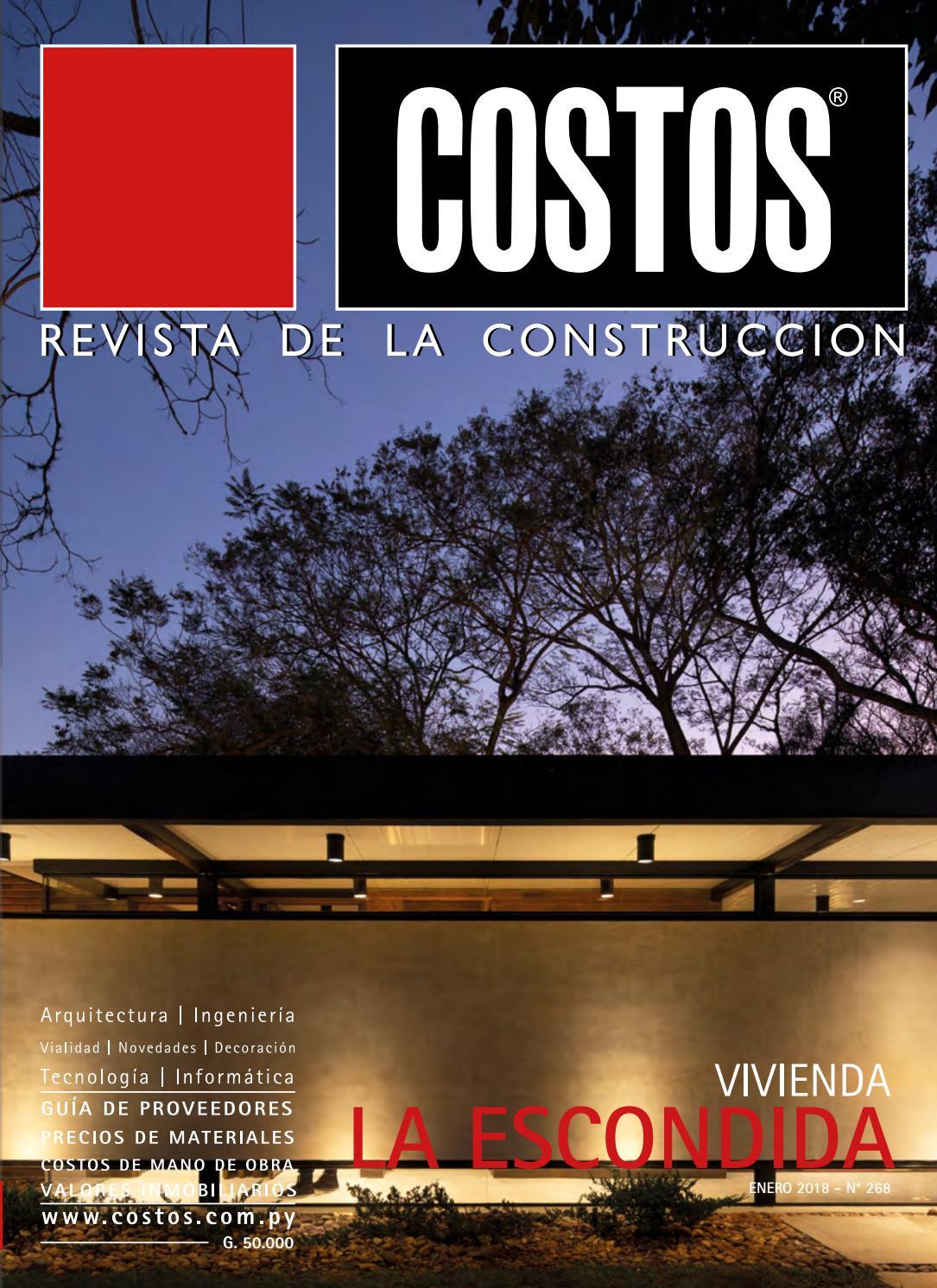 Costos 268 enero 2018 by Revista Costos (Paraguay) - issuu