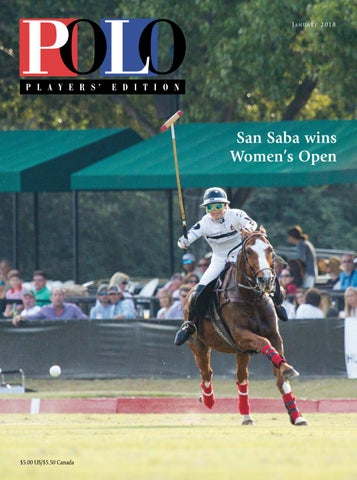 c746a95e6 January 2018 Polo Players' Edition by United States Polo Association ...
