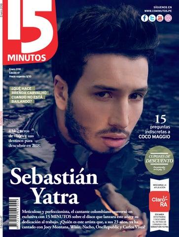 f329a5e3c Revista 15 Minutos Enero 2018 by Revista 15 MINUTOS Perú - issuu