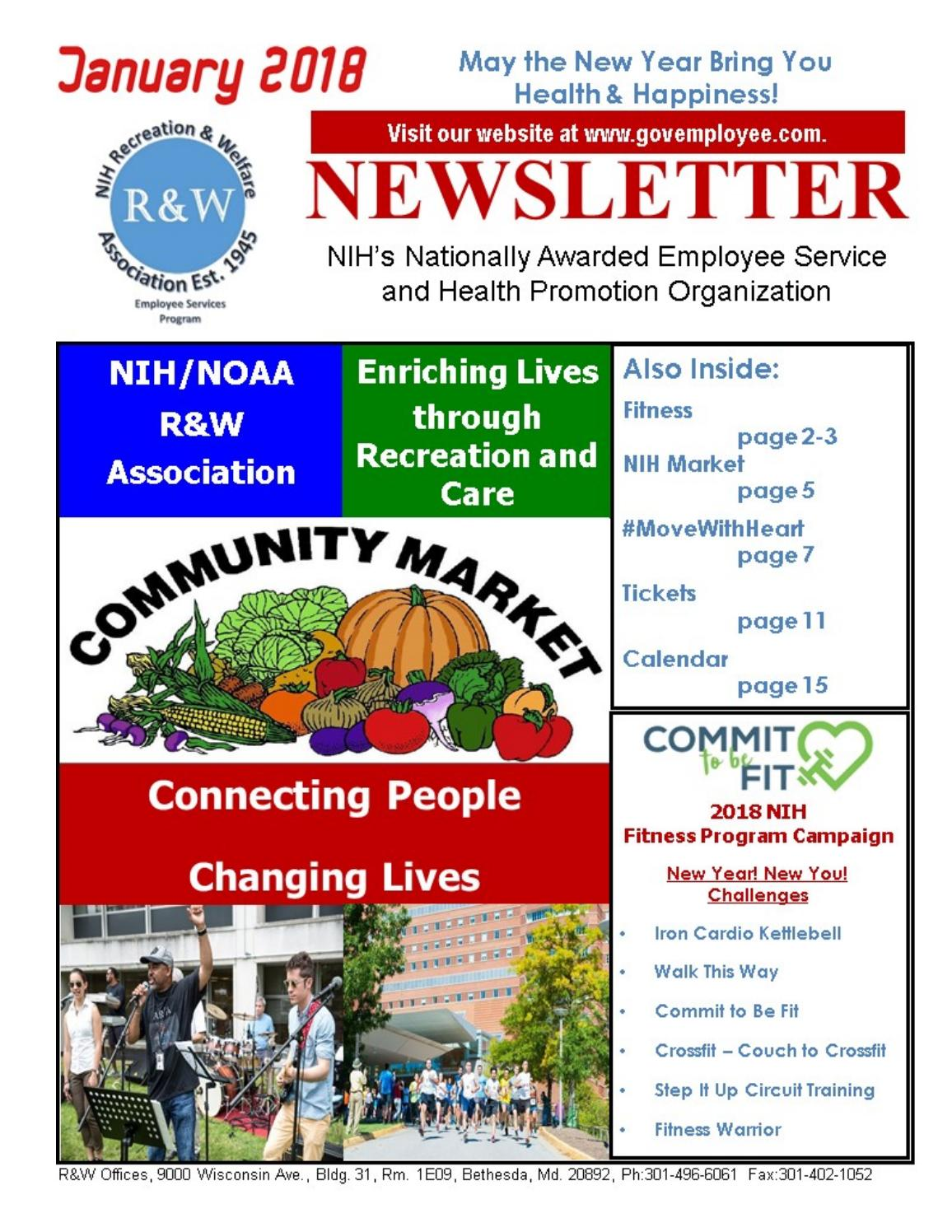 January 2018 R&W E-Newsletter by NIH R&W - issuu