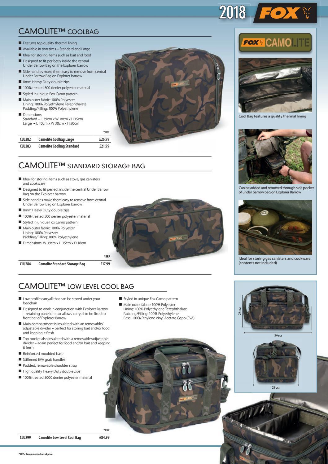 Fox Camolite Cool Bag Large