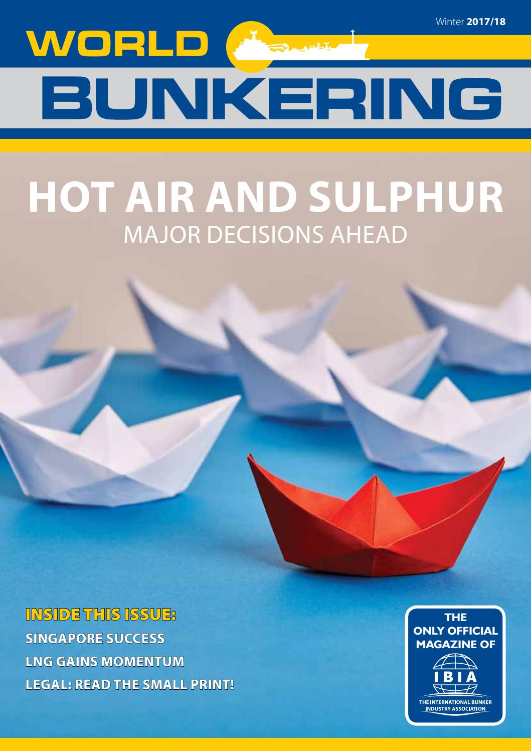 World Bunkering Winter Issue 2017/18 by Constructive Media