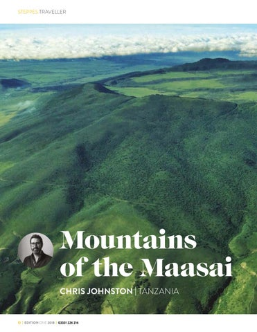 Page 12 of The Mountains of the Maasai by Chris Johnston