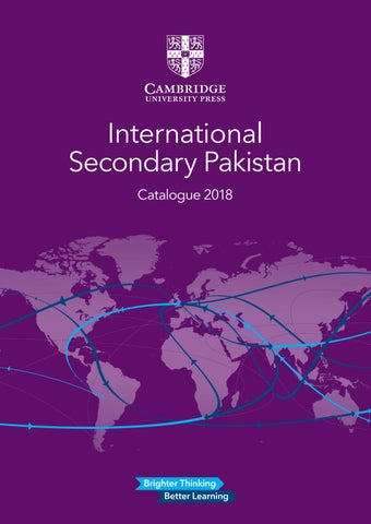 International secondary catalogue 2018 by cambridge university press international secondary pakistan catalogue 2018 fandeluxe Image collections