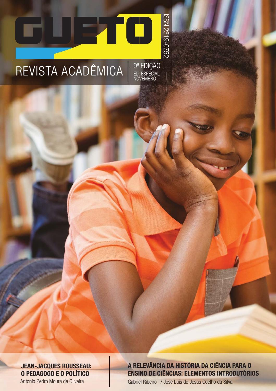 a7b0dd383 Revista Acadêmica GUETO   Edição Especial   vol. 9   Doutores da Educação  by Revista Acadêmica GUETO - issuu