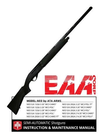 ATA Arms Neo Shotgun by EAA Corp - issuu