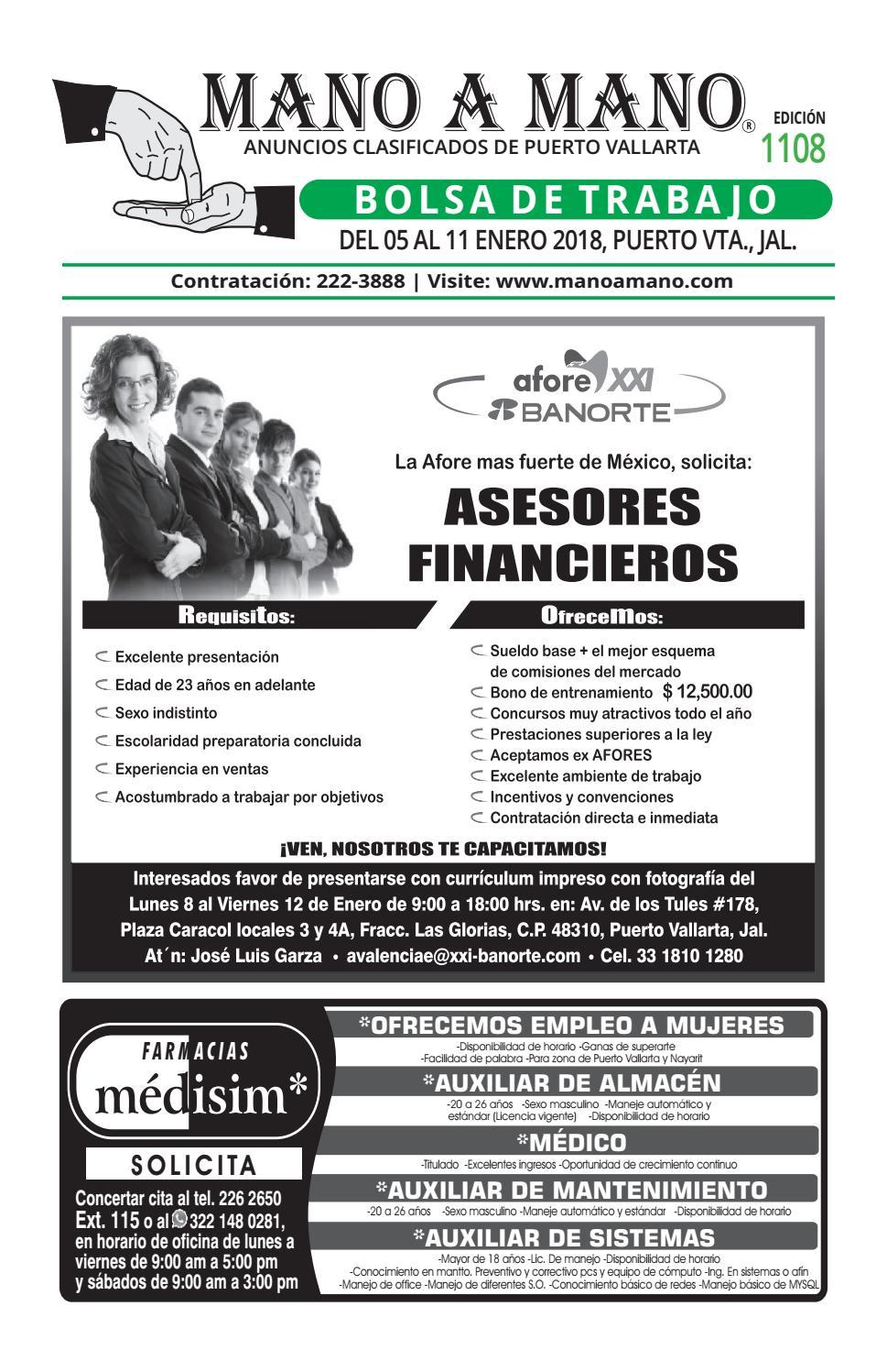 Bolsa trabajo 1108 by MANO A MANO - issuu