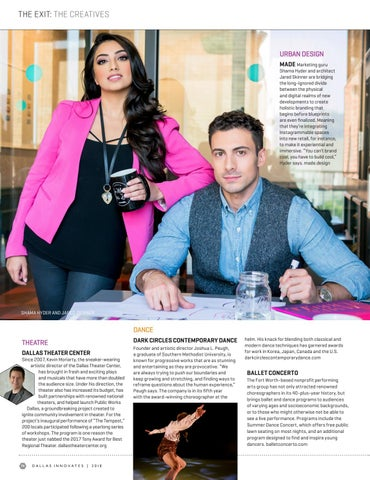 Dallas innovates 2018 by dallas regional chamber publications issuu page 76 malvernweather Gallery