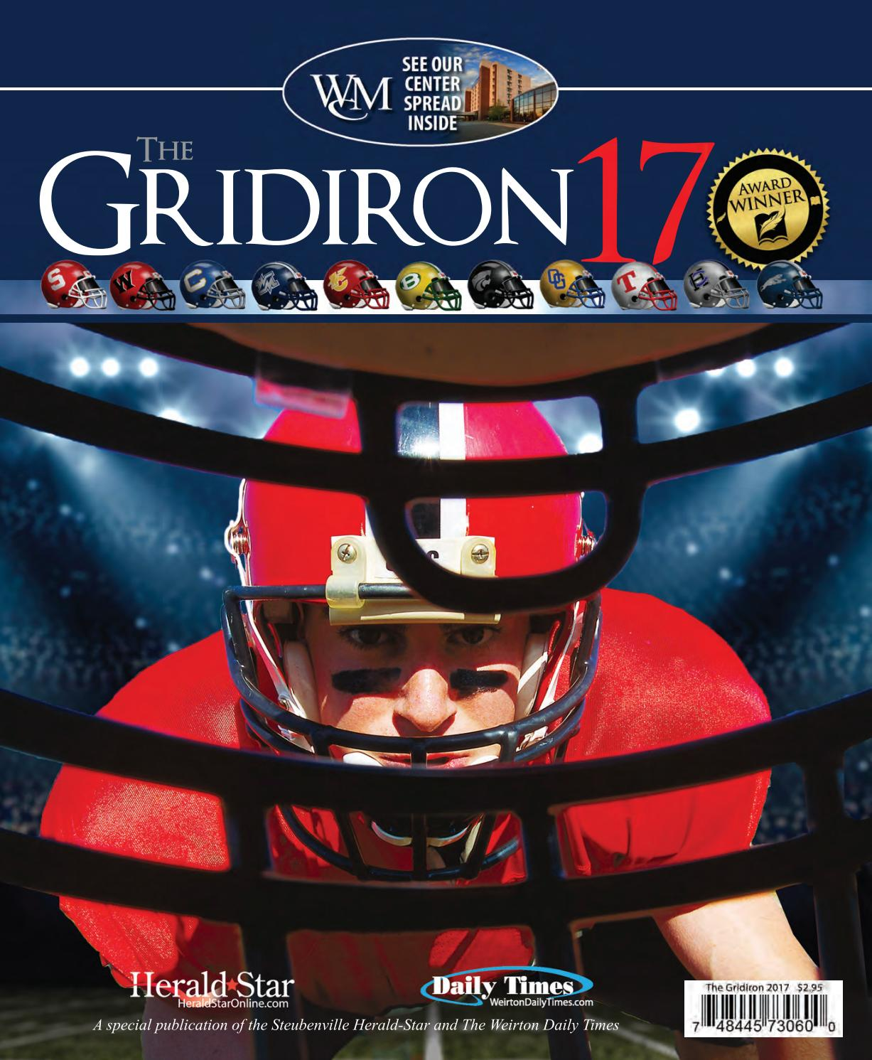 be39bdc9518d The Gridiron 2017 - High School Football Preview by Herald-Star - issuu
