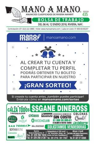 6ba3ea5278 Riviera bolsa de trabajo y hoteles 435 by MANO A MANO - issuu