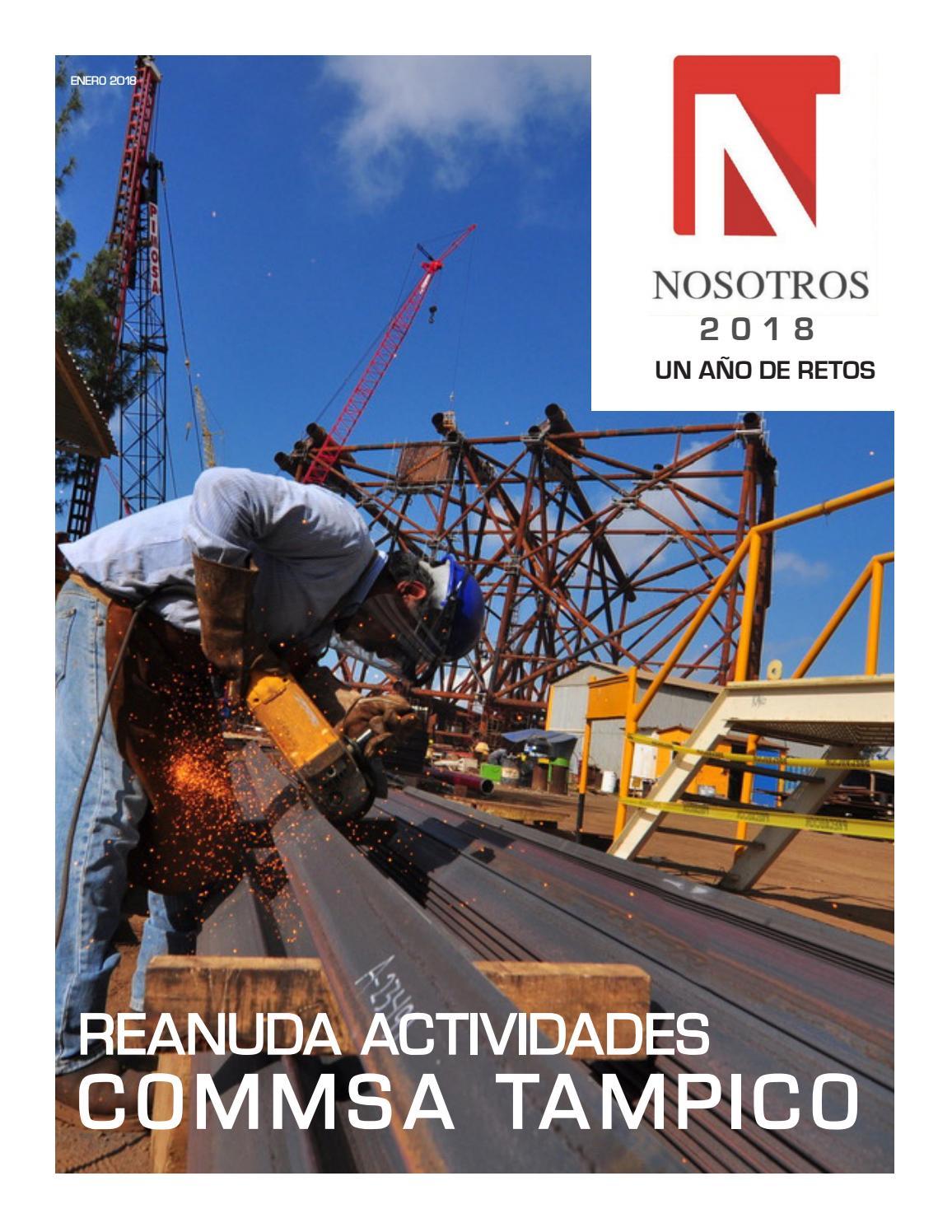 Revista Nosotros Enero 2018 by GrupoIndustrialMonclova - issuu