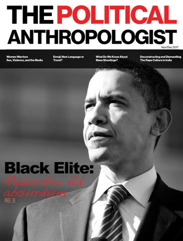 The Political Anthropologist Nov/Dec 2017 edition by EBR MEDIA - issuu