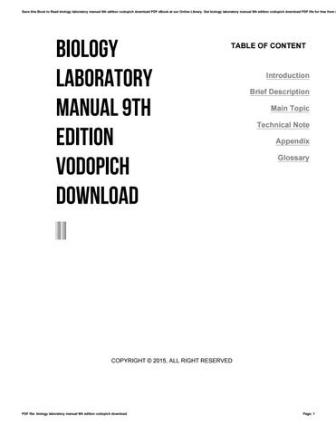 Textbook of preventive and social medicine by k park 19th edition biology laboratory manual 9th edition vodopich download fandeluxe Choice Image