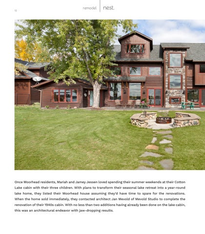 Page 12 of The Cotton Lake Project - From Seasonal Retreat to Year-Round Residence
