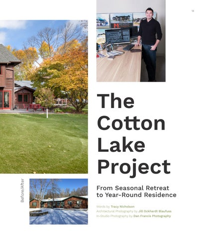 Page 13 of The Cotton Lake Project - From Seasonal Retreat to Year-Round Residence