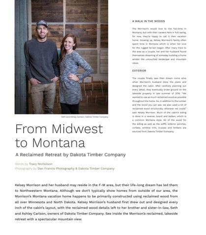 Page 34 of From Midwest to Montana - A Reclaimed Retreat by Dakota Timber Company