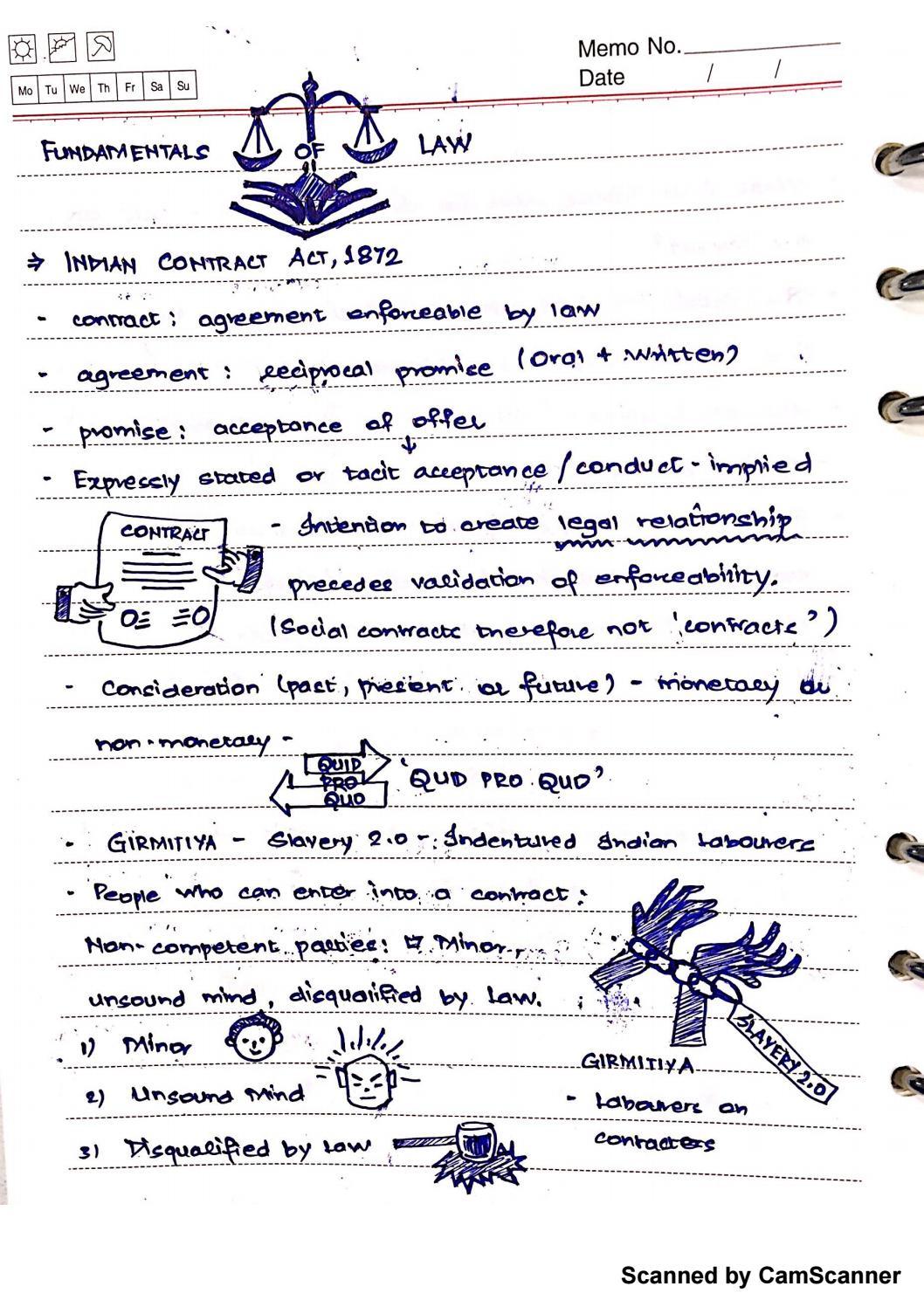 Fundamentals Of Law By Venugopal Rajamani Issuu