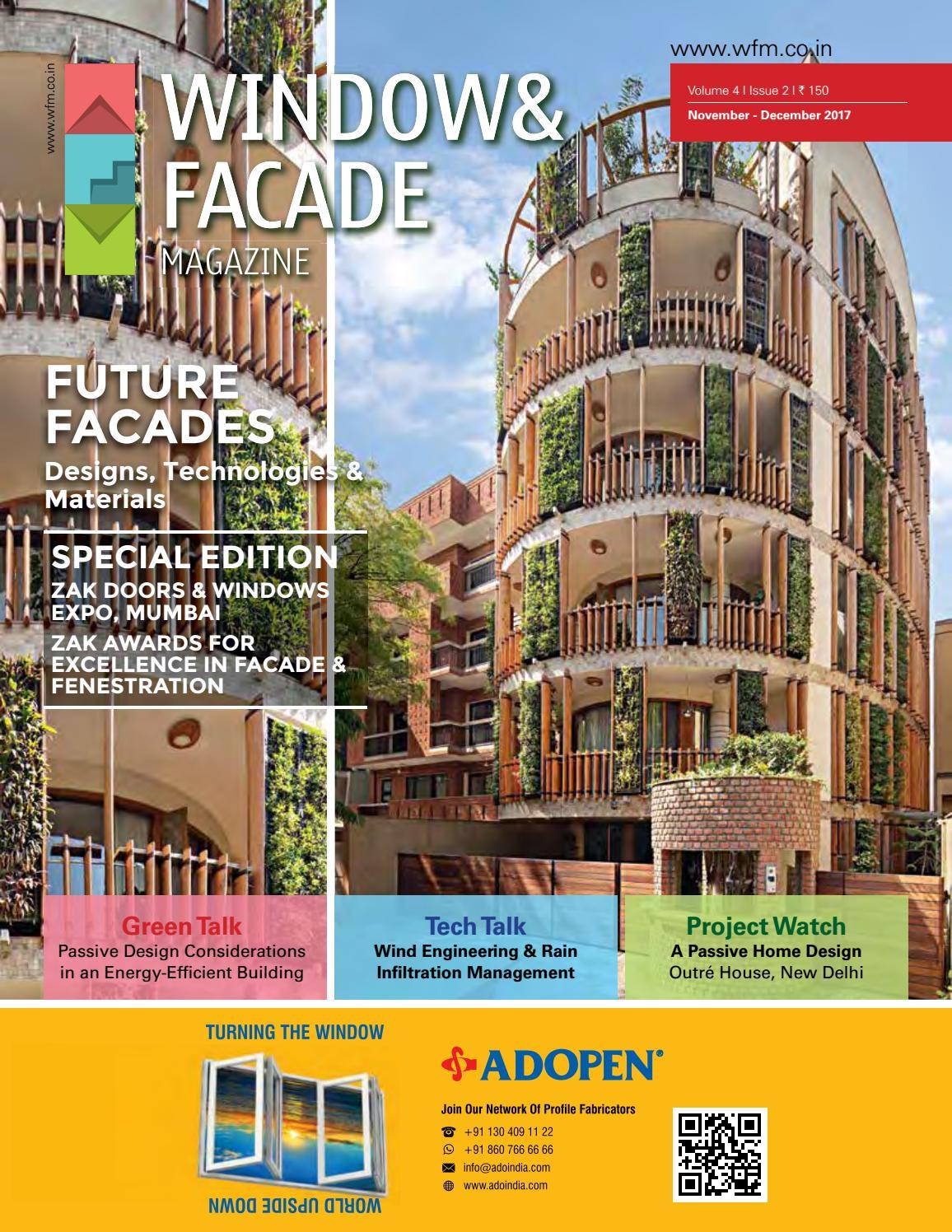 Window Amp Facade Magazine November December 2017 Issue By
