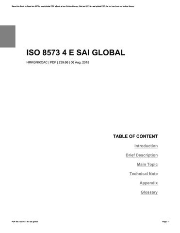 Iso 8573 4 e sai global by caseedu68 - issuu