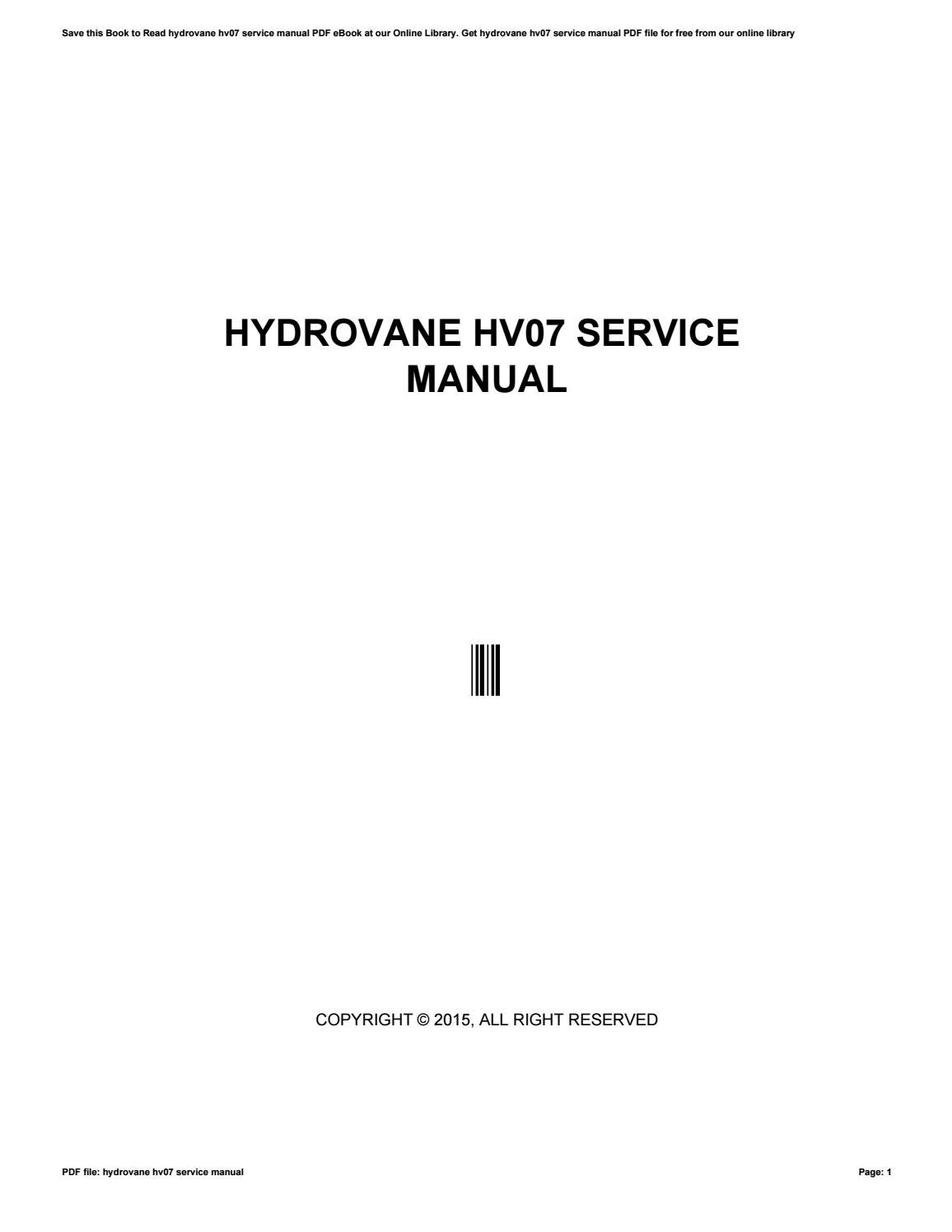 Hydrovane hv07-service-manual.