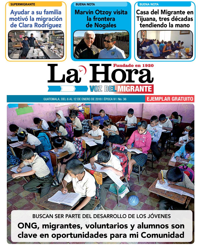 Voz del Migrante 06-01-2018 by La Hora - issuu