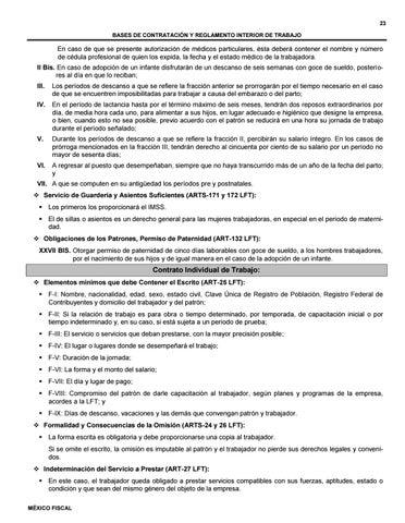 Contrato Individual De Trabajo Mexico By Juridicoudem2017 Issuu