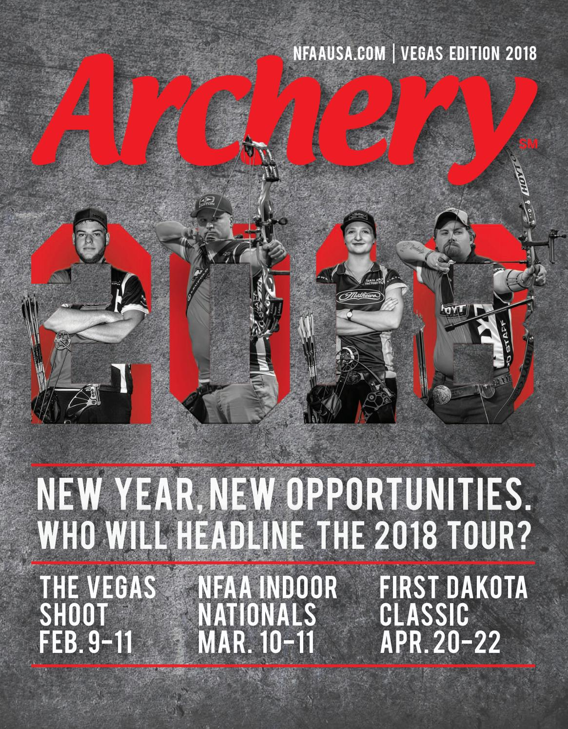 2018- Vegas Edition & Tournament Preview by National Field Archery