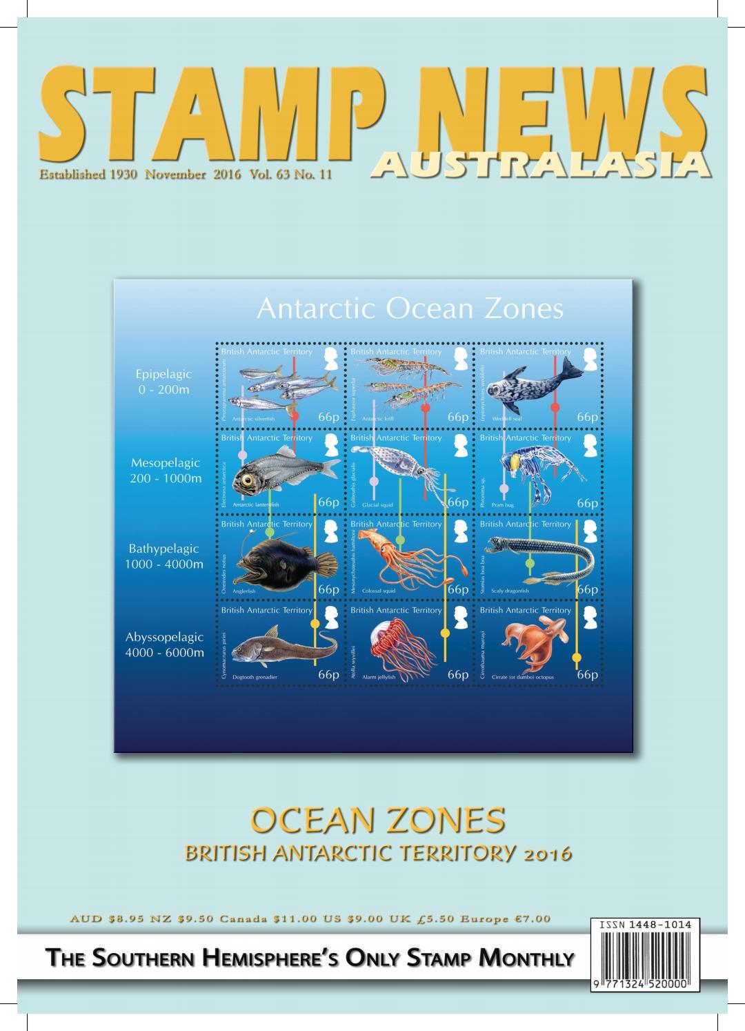 Stamp News Australasia - November 2016 by Stamp News Australasia - issuu