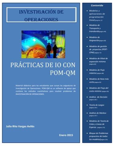Prácticas De Investigación De Operaciones By