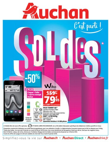 f844a9d8832 Catalogue soldes 2018 - Auchan by bonsplans - issuu