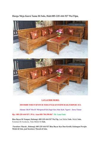 Harga Meja Kursi Tamu Di Solo Hub 085 235 444 937 Wa Tlpn By Mandiriputra Issuu